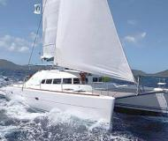 Cat Lagoon 410 S2 for charter in English Harbour