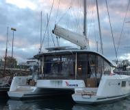 Catamaran Lagoon 42 available for charter in Furnari