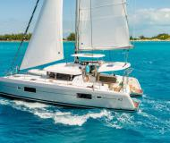 Cat Lagoon 42 available for charter in Marina San Antonio