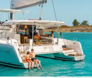 Cat Lagoon 42 for hire in ACI Marina Slano