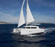 Catamaran Lagoon 420 for rent in Port Lavrio