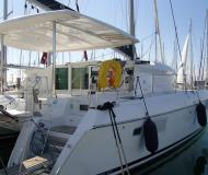 Cat Lagoon 420 for charter in Lavrio