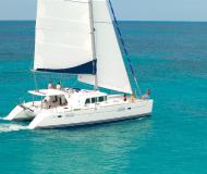 Catamaran Lagoon 440 for hire in Marina Villa Igiea