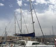 Cat Lagoon 440 available for charter in La Cala