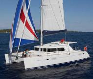 Catamaran Lagoon 440 available for charter in Marina Dalmacija