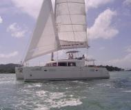 Catamaran Lagoon 450 for rent in Yacht Haven Marina Phuket