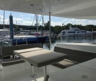 Catamaran Lagoon 450 available for charter in Harborage Marina