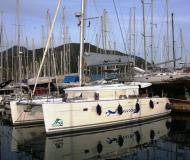 Cat Lagoon 450 available for charter in Marmaris Yacht Marina