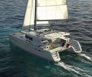 Cat Lagoon 450 for rent in Eden Island Marina
