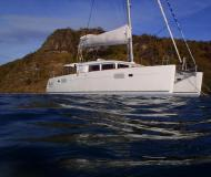Katamaran Lagoon 450 Yachtcharter in English Harbour Town