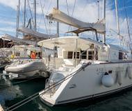 Kat Lagoon 450 Yachtcharter in ACI Marina Dubrovnik