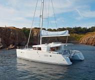 Catamaran Lagoon 450 for hire in Marina Dalmacija
