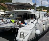 Katamaran Lagoon 450 chartern in Harbourview Marina