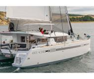 Cat Lagoon 450 available for charter in Marina Anse Marcel