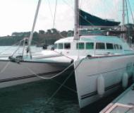 Cat Lagoon 500 for charter in Marina Joyeria Relojeria