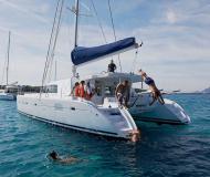 Catamaran Lagoon 500 for charter in S Arenal