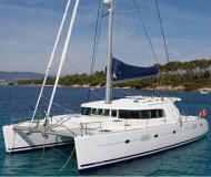 Catamaran Lagoon 500 available for charter in Salerno