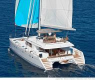 Cat Lagoon 560 available for charter in Marina Kastela