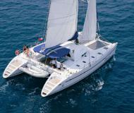 Catamaran Lagoon 570 available for charter in Denpasar