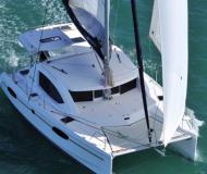 Catamaran Leopard 38 for hire in Lagoon Marina