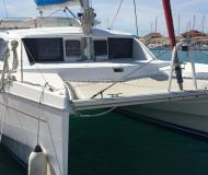 Cat Leopard 38 for charter in Marine Betina