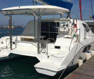 Cat Leopard 38 for charter in Betina