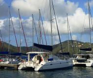 Catamaran Leopard 40 for rent in Road Town
