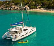 Catamaran Leopard 46 for rent in Marina Apooiti