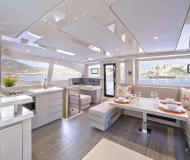 Catamaran Leopard 48 available for charter in Port Elizabeth Harbour