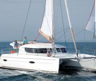 Catamaran Lipari 41 for rent in Marina Mindelo