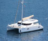 Catamaran Lipari 41 available for charter in Tivat