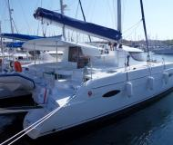 Cat Lipari 41 for charter in Marina Veruda