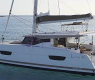 Catamaran Lucia 40 available for charter in Pula
