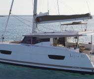 Catamaran Lucia 40 for charter in Sukosan Bibinje