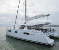 Catamaran Nautitech 40 available for charter in Hyeres