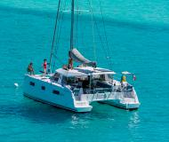 Catamaran Nautitech Open 40 available for charter in Gouvia Marina