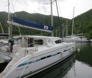 Kat Nautitech 441 chartern in Marina Le Marin