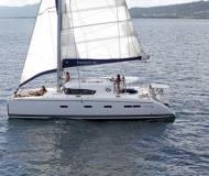 Cat Nautitech 441 available for charter in French Cul de Sac