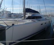 Kat Nautitech 47 in Le Grande Motte Marina chartern