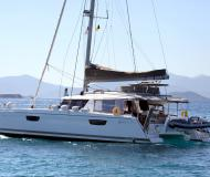 Kat Saba 50 Yachtcharter in Old Port of Mykonos City