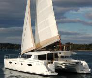 Cat Salina 48 available for charter in Tromso Harbour