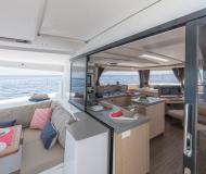Catamaran Saona 47 for rent in Eden Island Marina