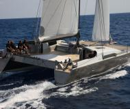 Catamaran SIG 45 available for charter in Kos Marina