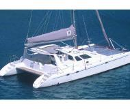 Catamaran Voyage 440 for charter in Marina Cayo Largo