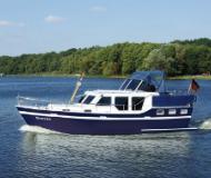 Hausboot Ankertrawler 1100 AK Yachtcharter in Marina Zehdenick