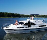 Houseboat Europa 400 available for charter in Marina Mikolajki