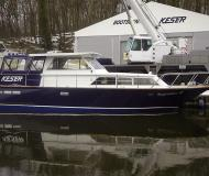 Houseboat Keser 1190 available for charter in Marina Bootscenter Keser