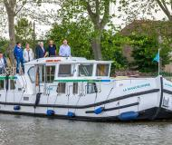 Houseboat Penichette 1500 FB for charter in Marina Lutzelbourg