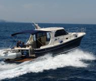 Motor yacht Adriana 36 for rent in Marina Dalmacija