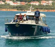 Motor boat Adriana 44 available for charter in Biograd na Moru